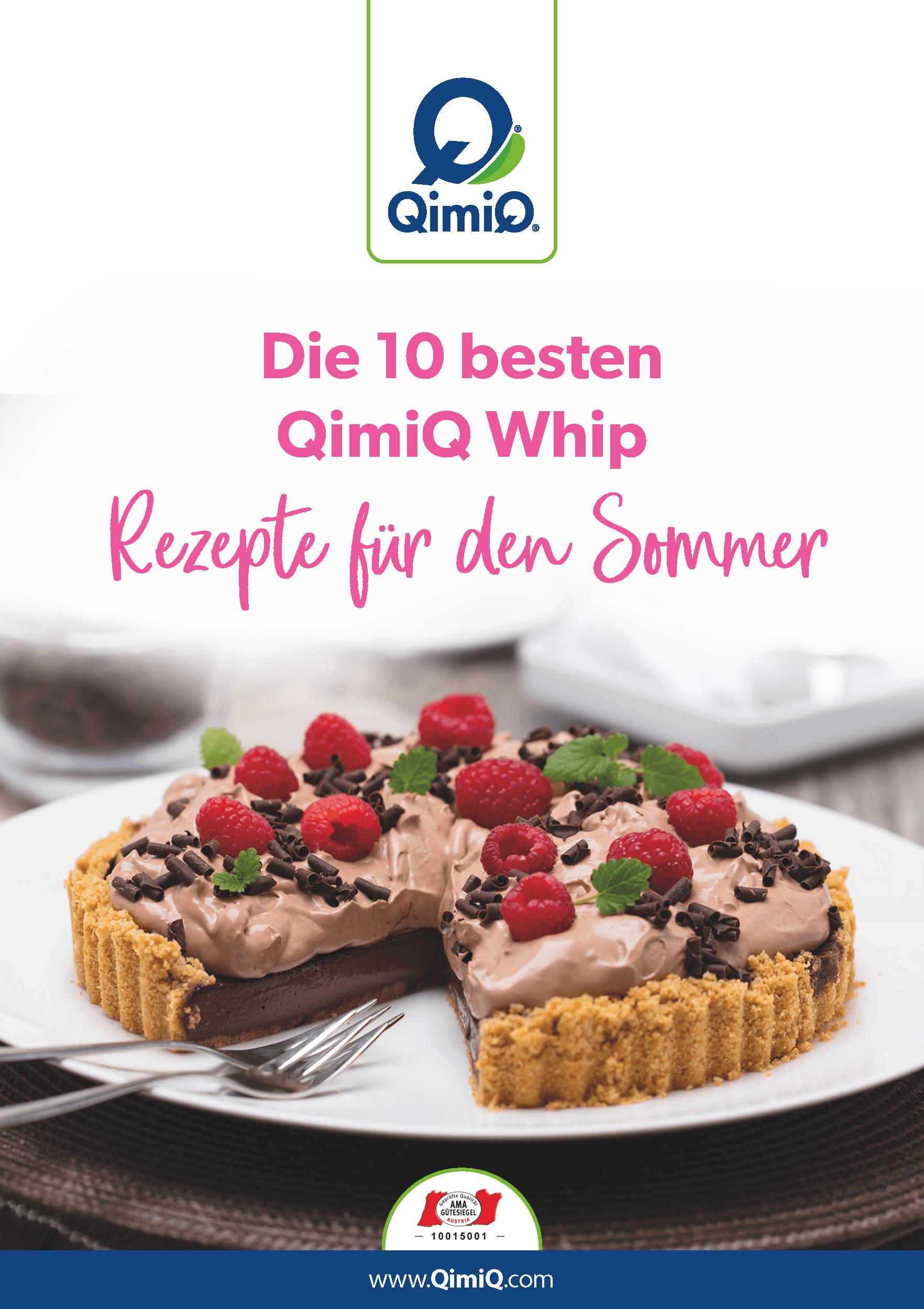 Die 10 besten QimiQ Whip Rezepte für den Sommer