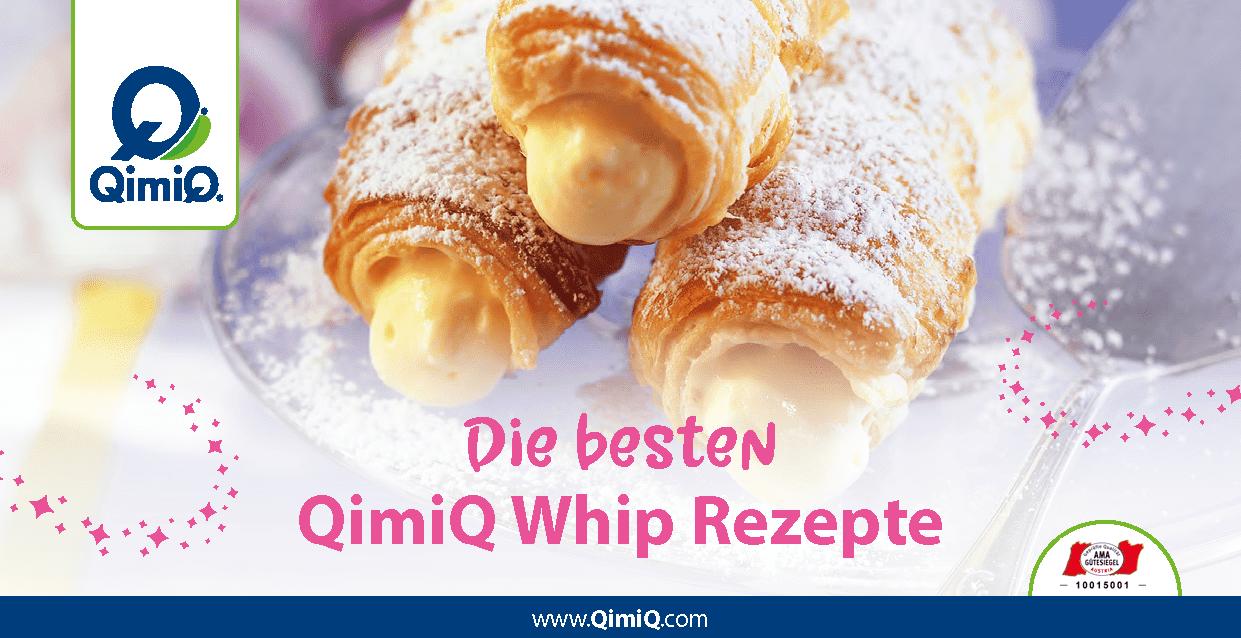 QimiQ Whip Rezepte