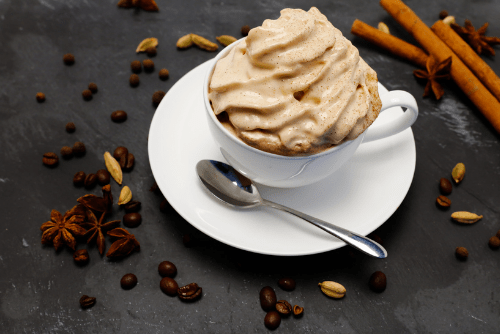 Spiced Coffee Topping